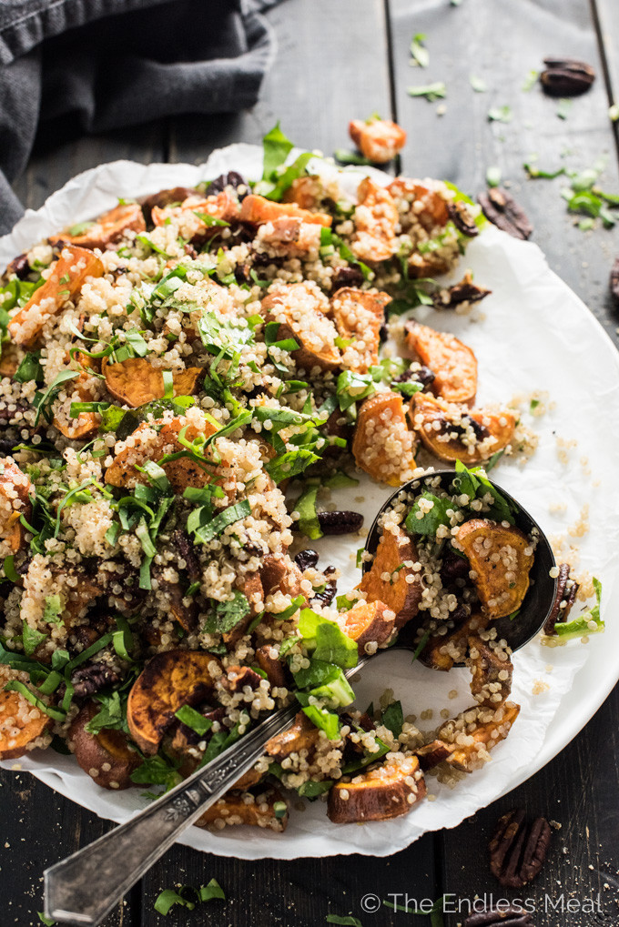 Fall Quinoa Recipes  Autumn Quinoa Salad with Maple Dijon Dressing