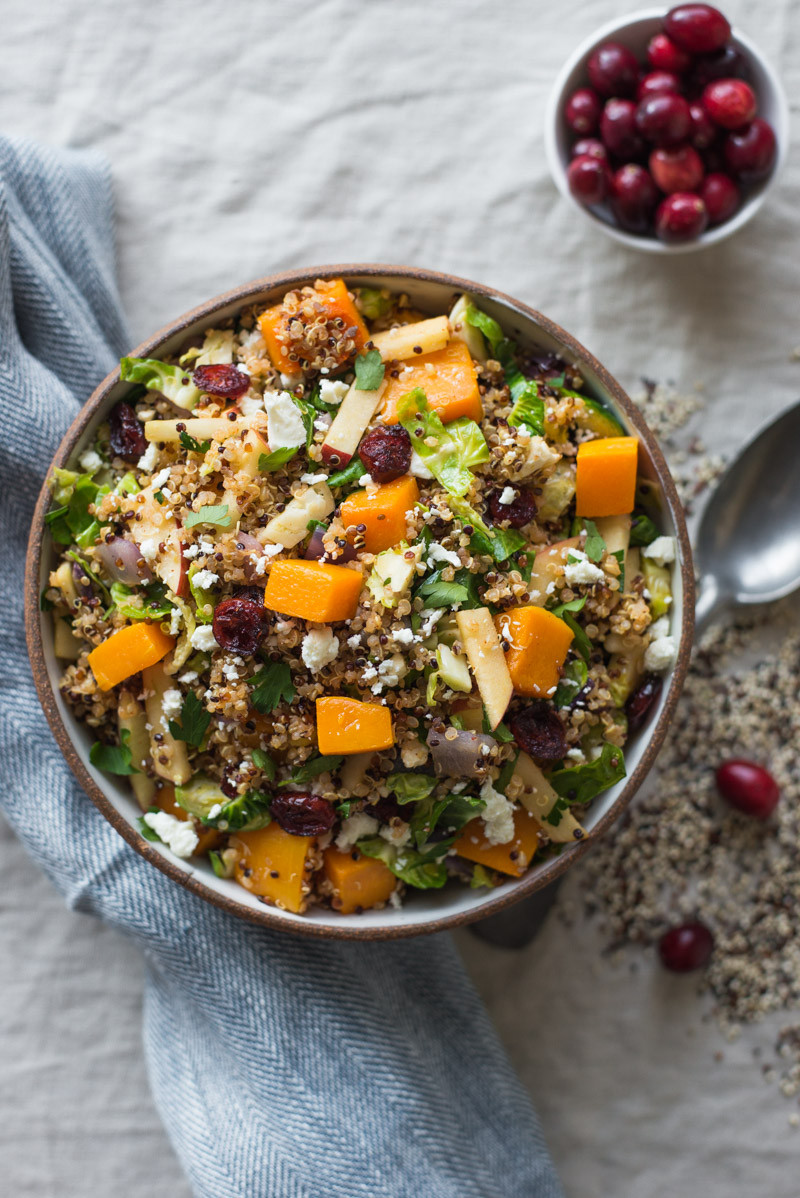 Fall Quinoa Recipes  Fall Harvest Quinoa Salad