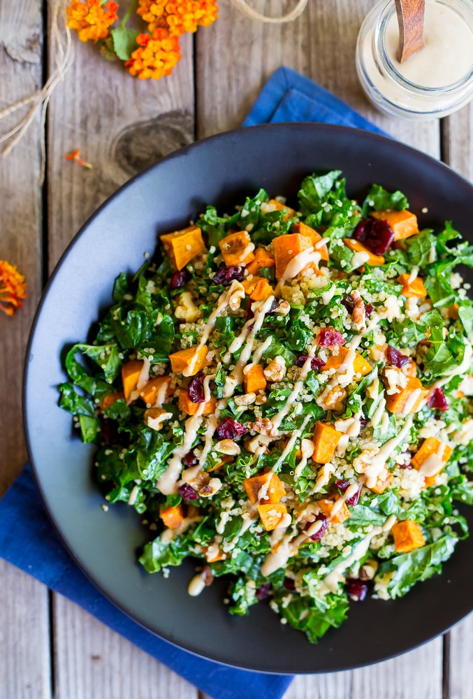 Fall Quinoa Recipes  30 Ve arian Main Dish Salad Recipes She Likes Food