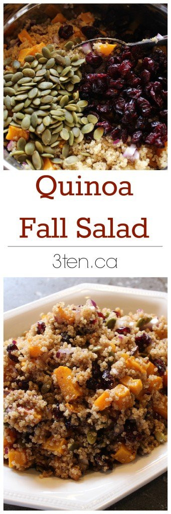 Fall Quinoa Recipes  Recipe Quinoa Fall Salad 3ten