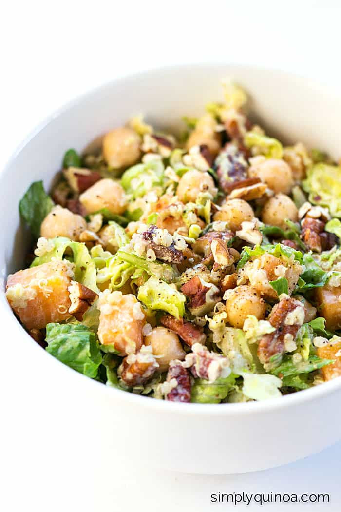 Fall Quinoa Recipes  Autumn Chopped Quinoa Salad Recipe Simply Quinoa