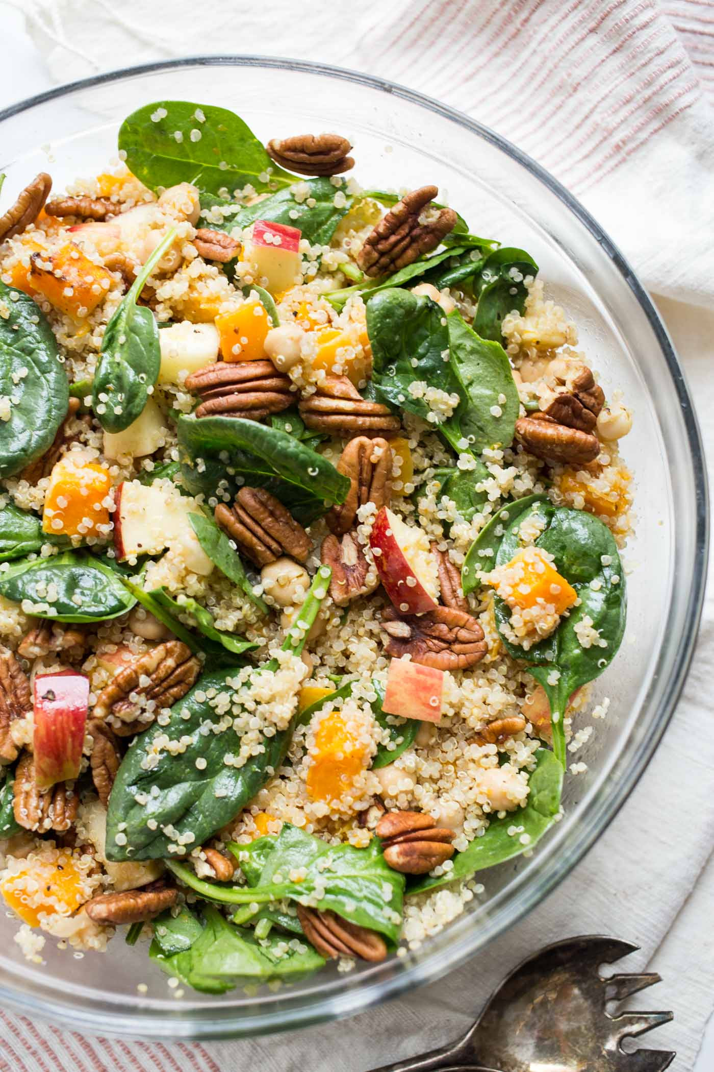 Fall Quinoa Recipes  Fall Quinoa Salad with Butternut Squash Simply Quinoa