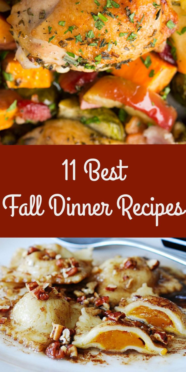 Fall Recipes Dinner  11 Best Mouthwatering Fall Dinner Recipes