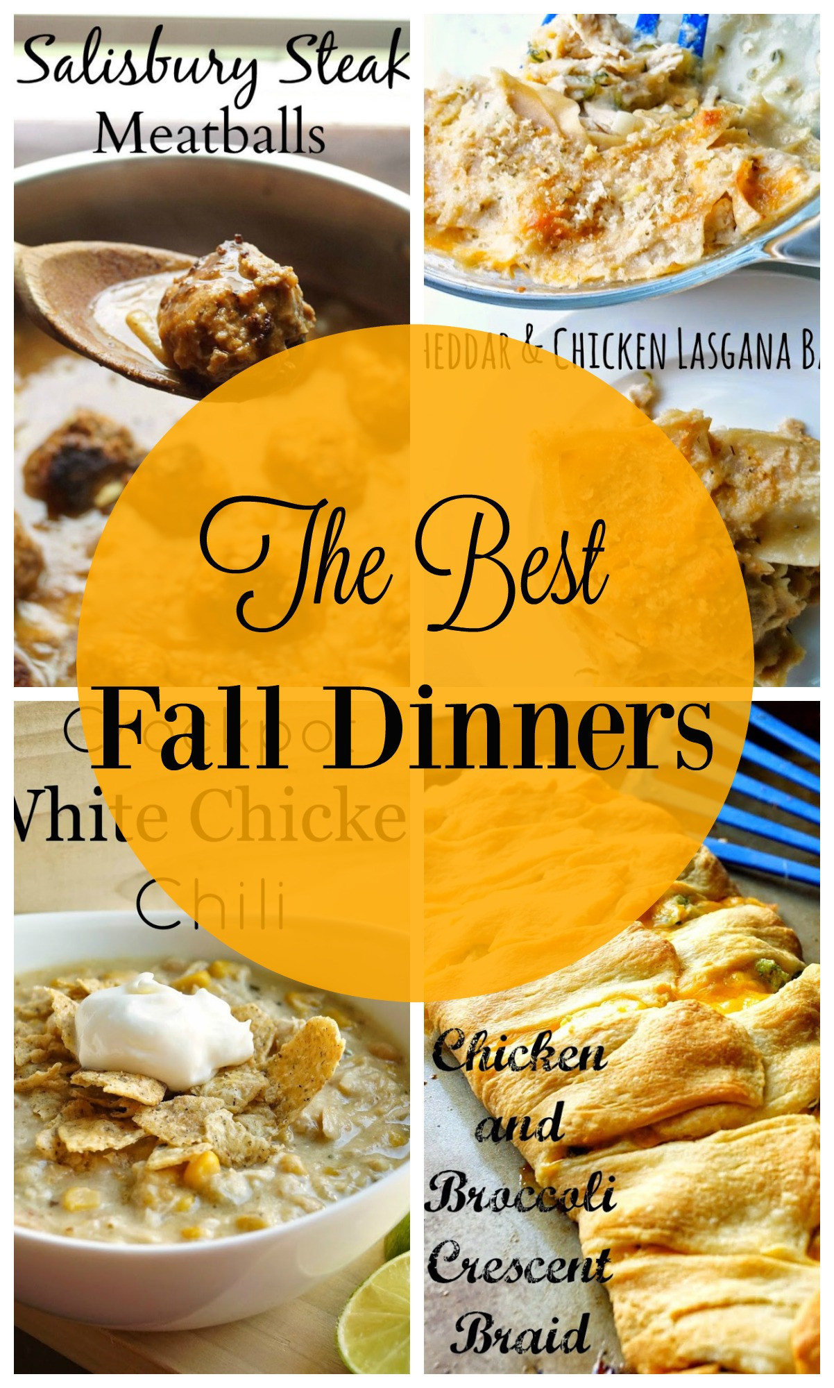 Fall Recipes Dinner  The Best Fall Dinners
