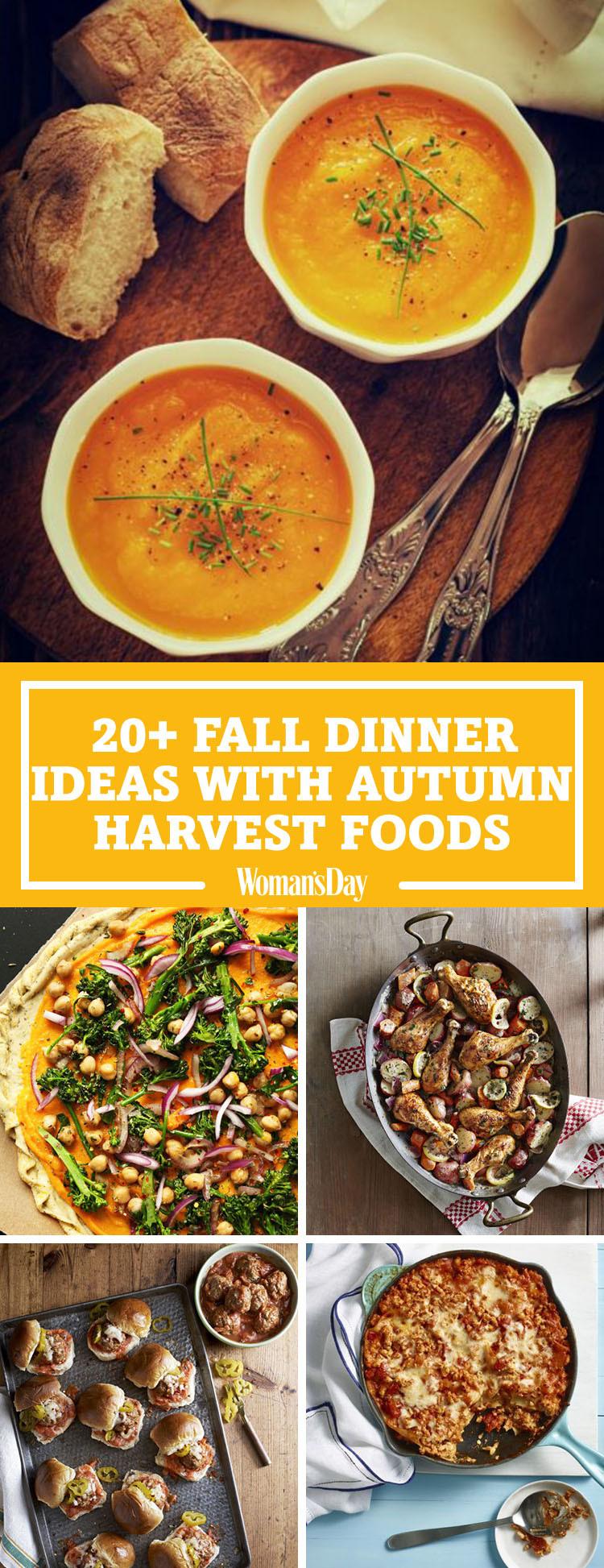 Fall Recipes Dinner  26 Easy Fall Dinner Ideas Best Dinner Recipes for Autumn