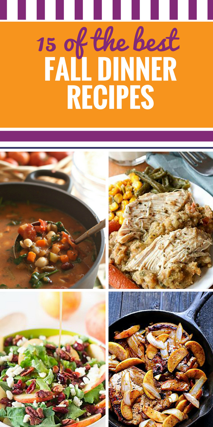 Fall Recipes Dinner  15 Fall Dinner Recipes My Life and Kids