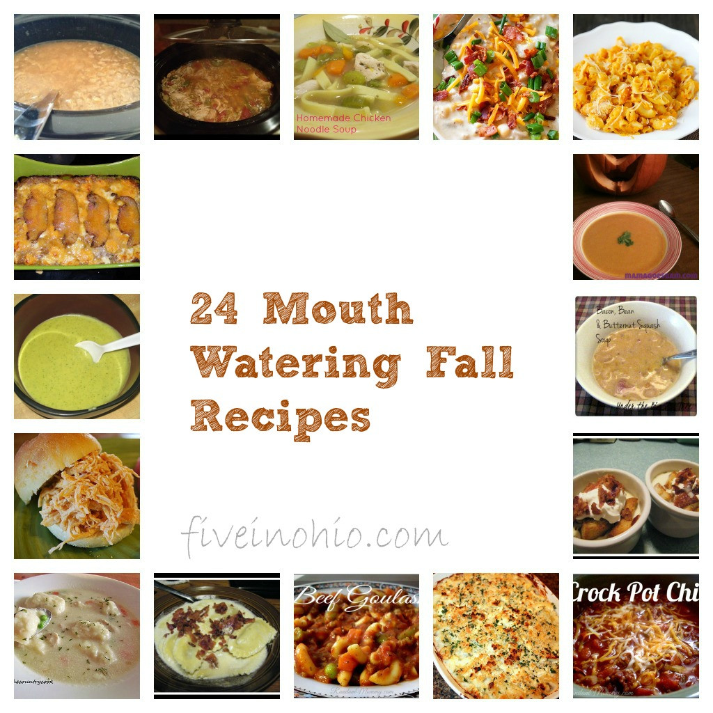 Fall Recipes Dinner  24 Mouth Watering Fall Dinner Recipes