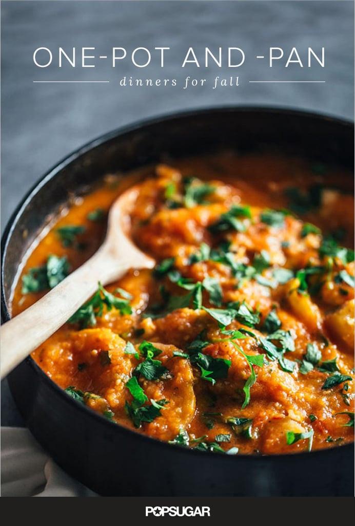 Fall Recipes For Dinner  e Pot Fall Dinner Recipes