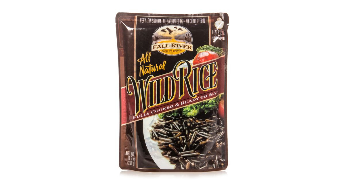 Fall River Wild Rice  Fall River Wild Rice Fully Cooked Pouch Azure Standard