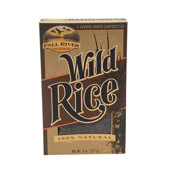 Fall River Wild Rice  Fall River Natural Wild Rice 8 oz from Stater Bros