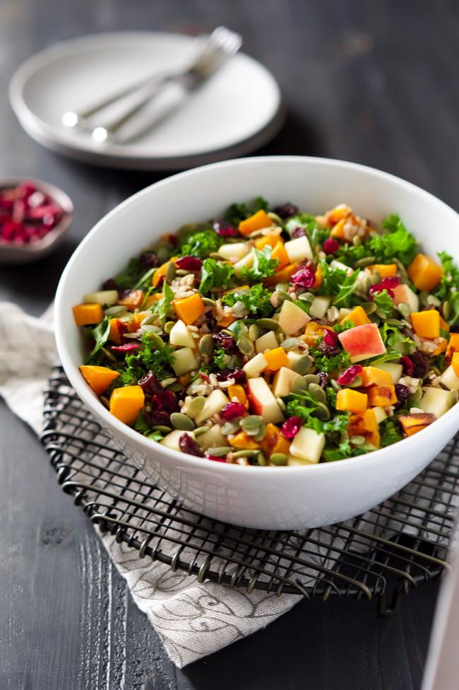 Fall Salad Dressings  Fall Harvest Salad with Apple Cider Vinaigrette