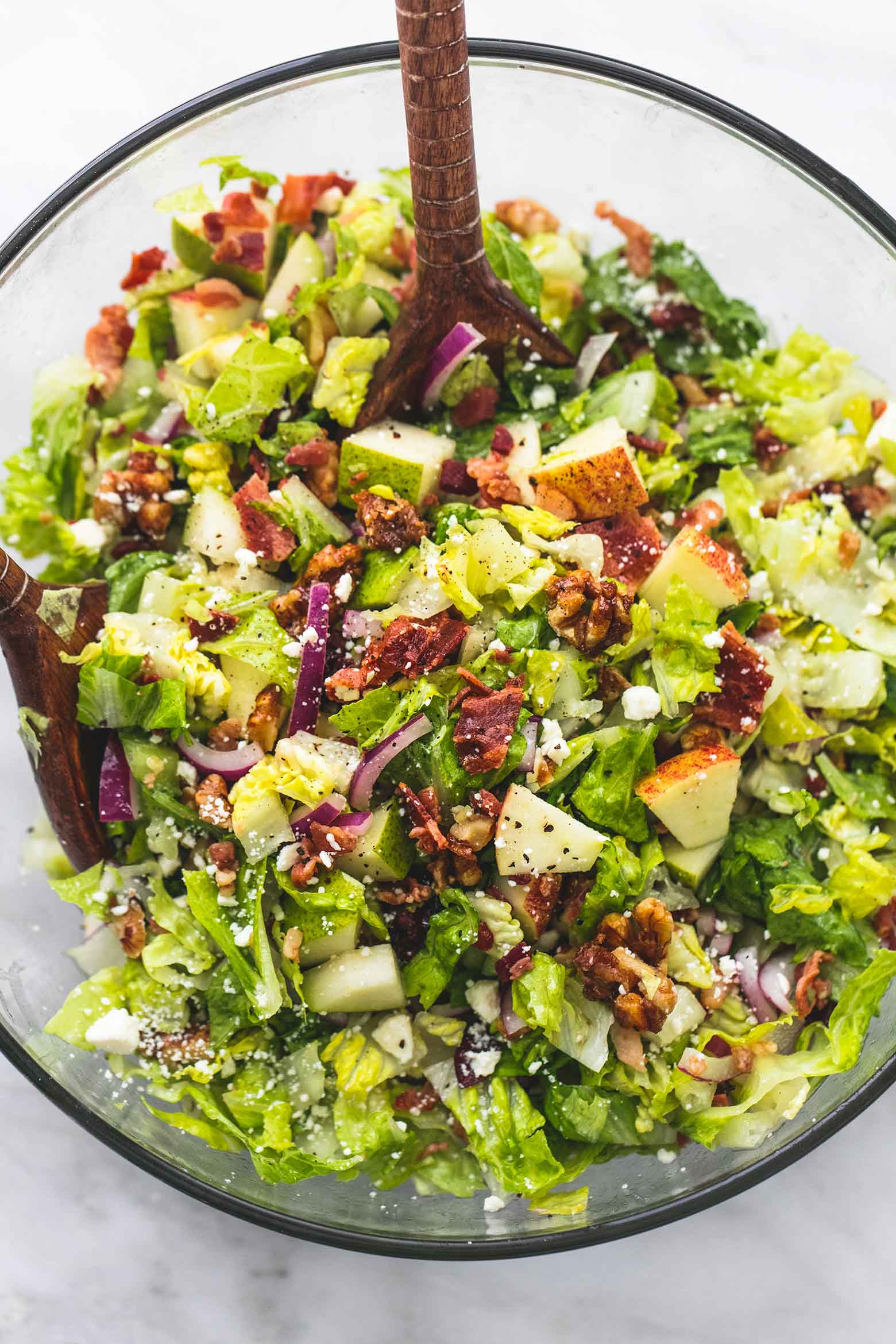 Fall Salad Dressings  Chopped Autumn Salad with Apple Cider Dressing