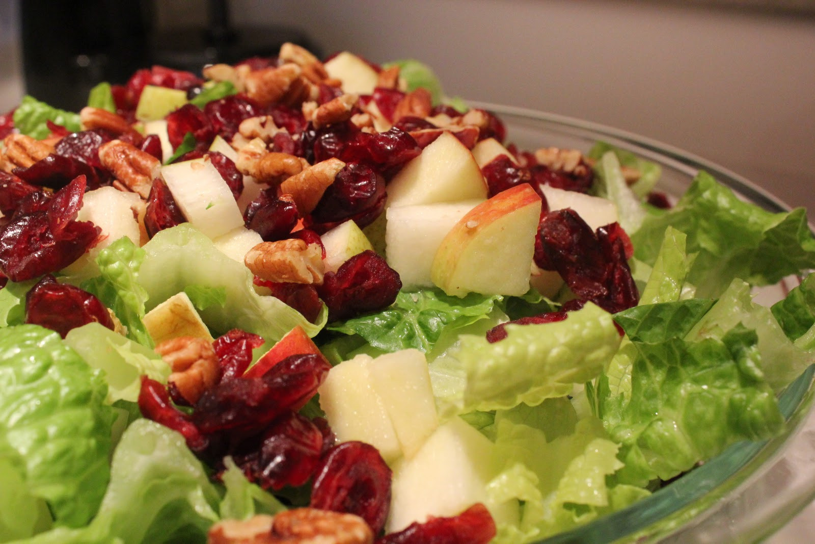 Fall Salad Dressings  Near to Nothing Autumn Salad with Lemon Poppyseed Dressing