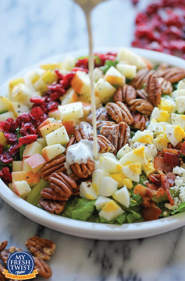 Fall Salad Dressings  21 Amazing and Unique Green Salad Recipes