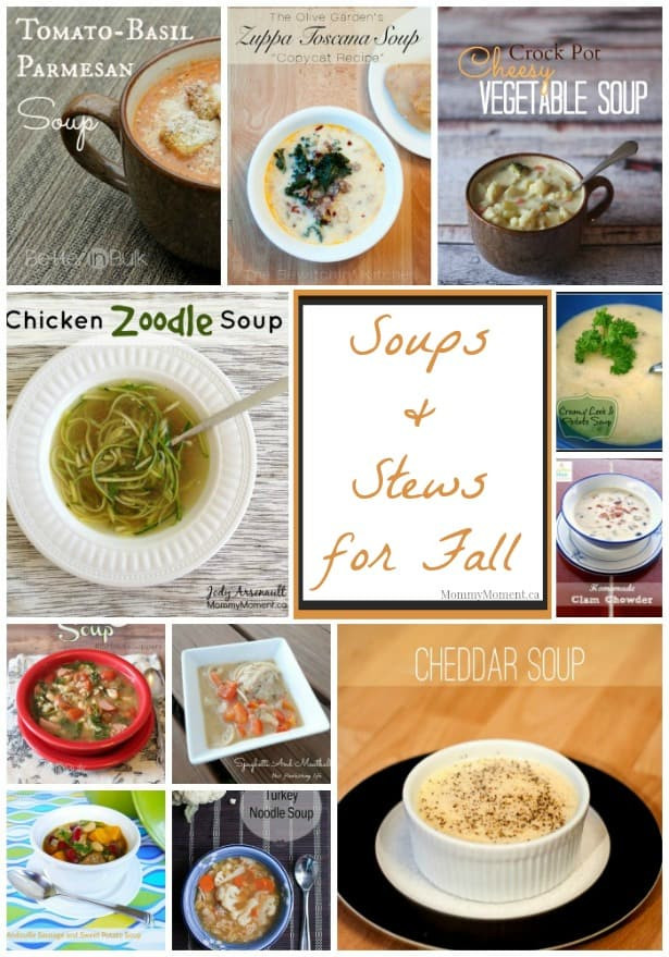 Fall Soup And Stew Recipes  Soups and Stews for Fall