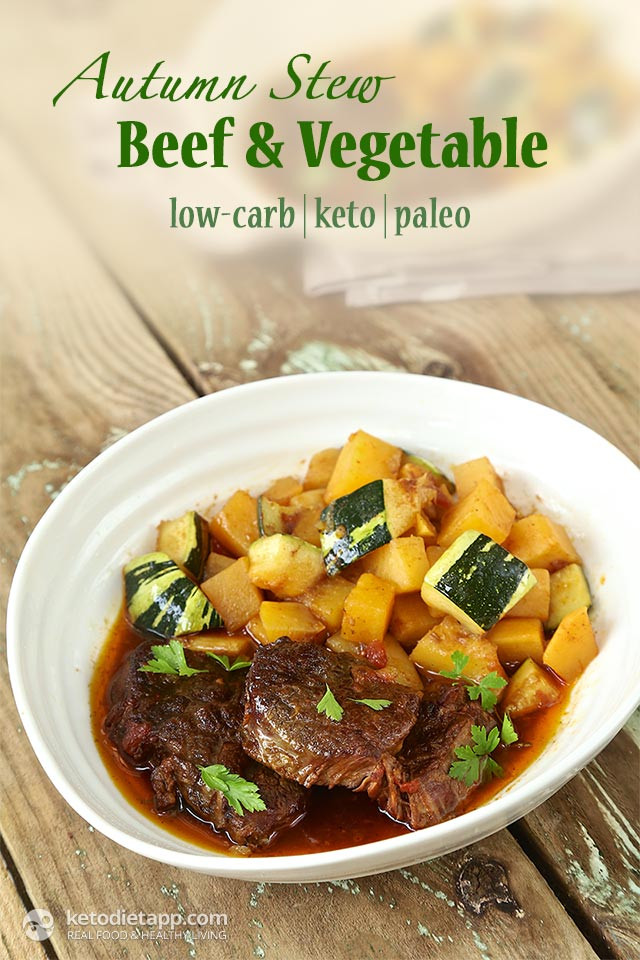 Fall Stew Recipes  Autumn Beef & Ve able Stew