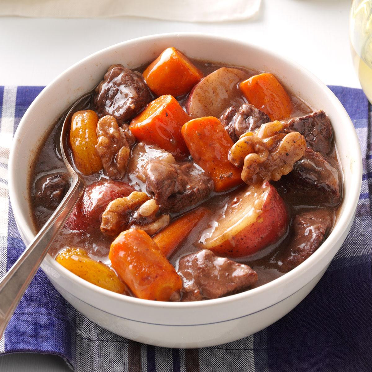 Fall Stew Recipes  Autumn Slow Cooked Beef Stew Recipe