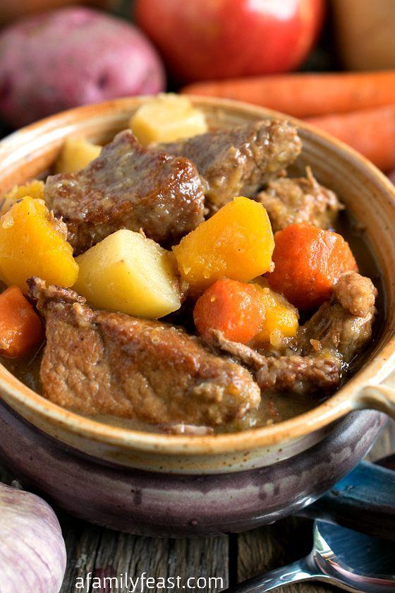 Fall Stew Recipes  Autumn Pork Stew A Family Feast