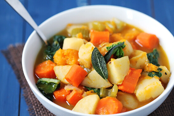 Fall Stew Recipes  Slow Cooker Root Ve able Stew