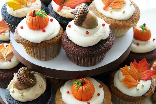 Fall Themed Cupcakes  Chita Juice Cupcakes Fall Edition