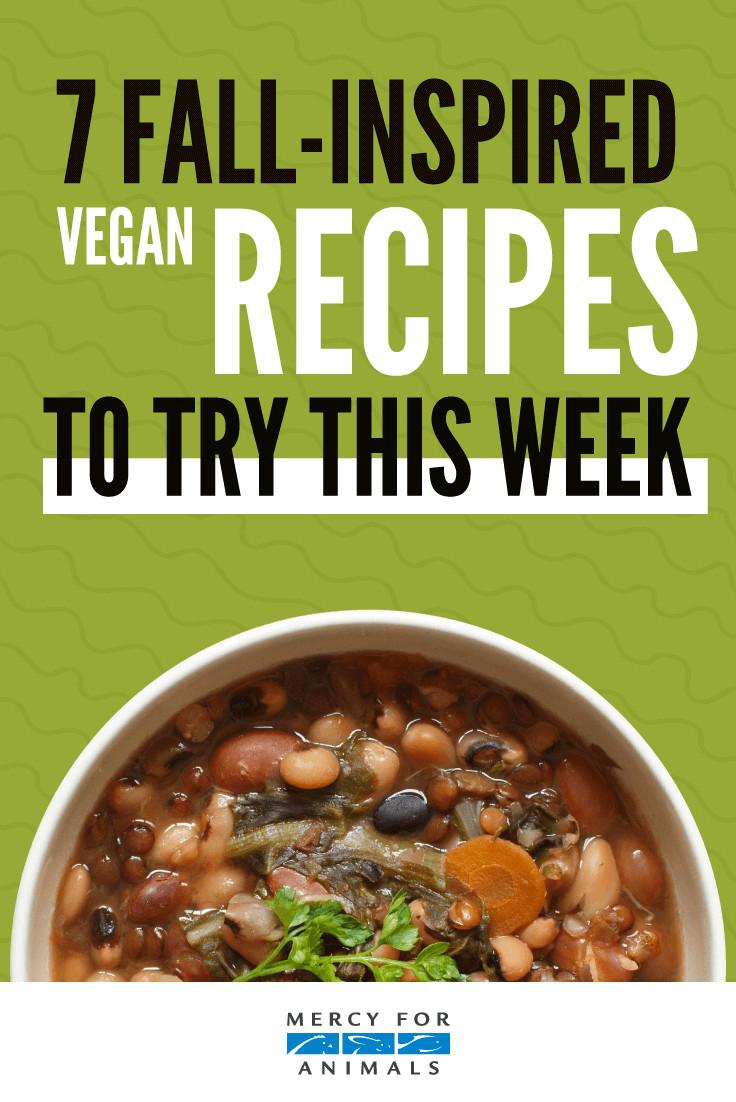 Fall Vegan Recipes  7 Fall Inspired Vegan Recipes to Try This Week ChooseVeg