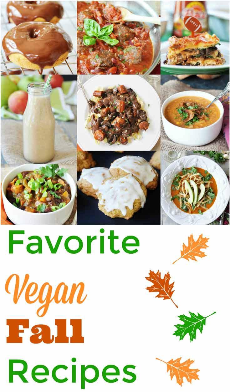 Fall Vegan Recipes  Favorite Fall Vegan Recipes Veganosity