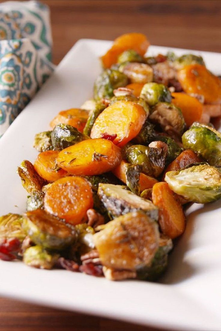 Fall Vegetable Side Dishes  Holiday Roasted Ve ables 16 Magnificent Fall Dinner
