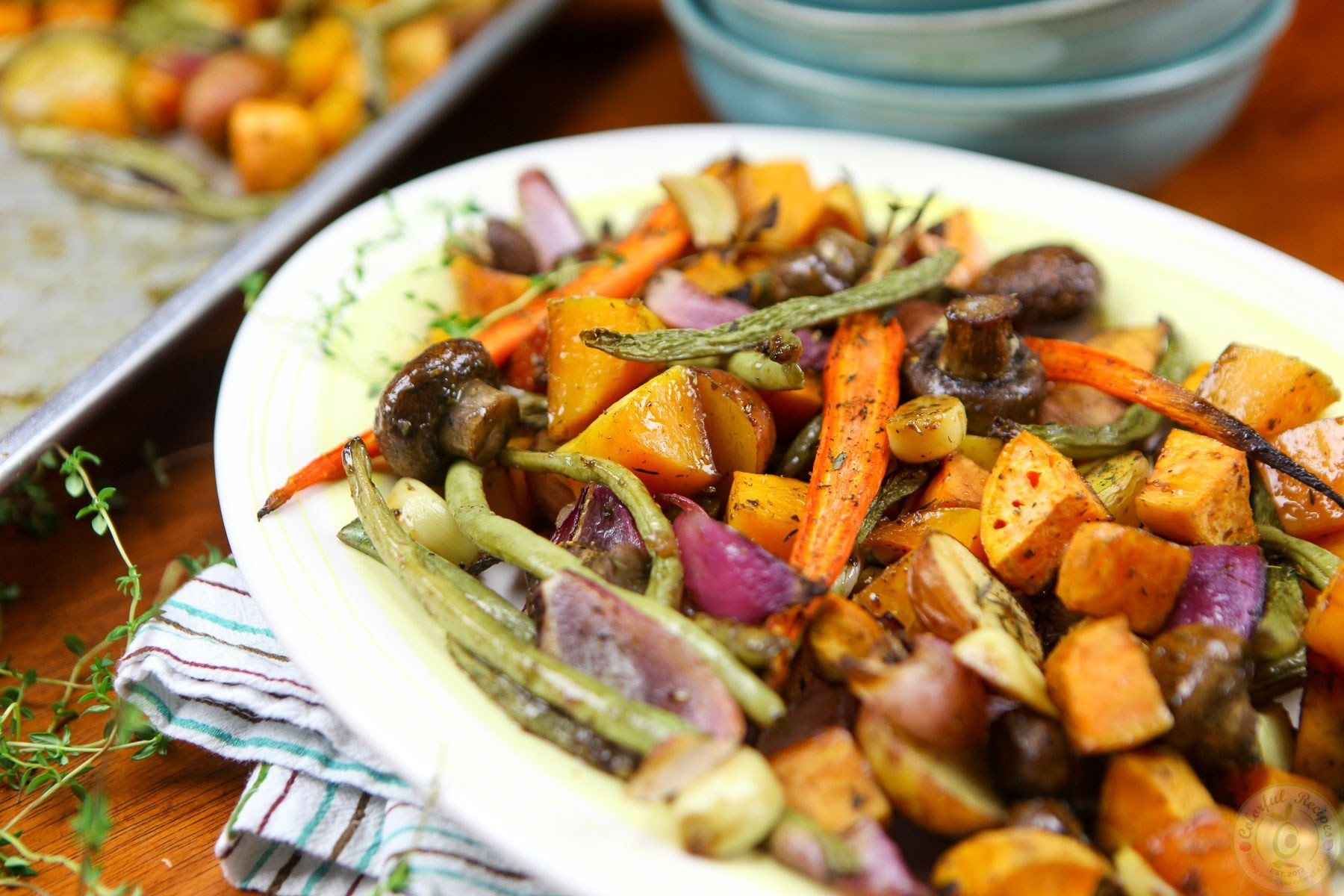 Fall Vegetable Side Dishes  4 Must Make Thanksgiving Side Dishes Colorful Recipes