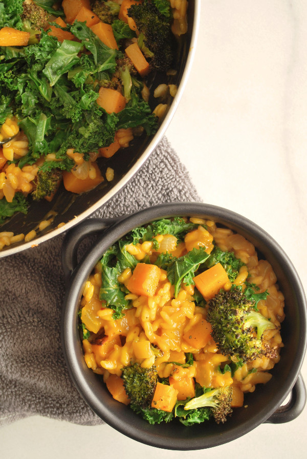 Fall Vegetarian Recipes  Easy Fall Ve able Risotto Fooduzzi