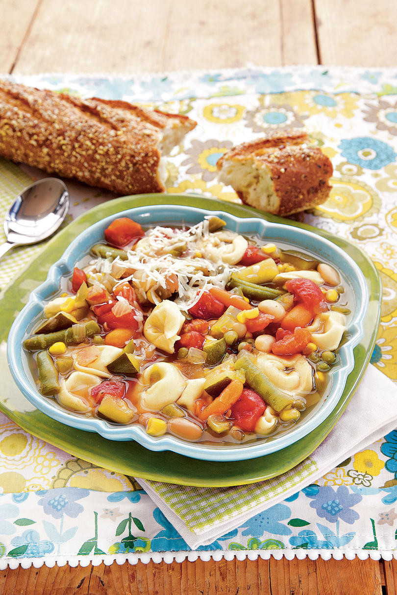 Fall Vegetarian Soup Recipes  A Month of Fall Soup Recipes Southern Living