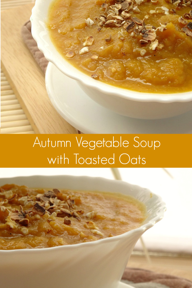 Fall Vegetarian Soup Recipes  Soup Recipes Autumn Ve able Soup with Toasted Oats Recipe