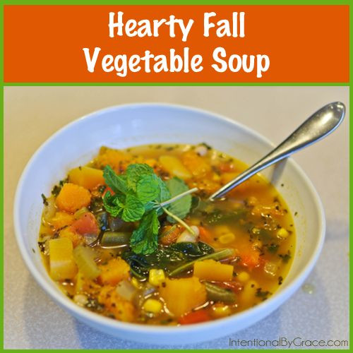 Fall Vegetarian Soup Recipes  38 best images about soup on Pinterest