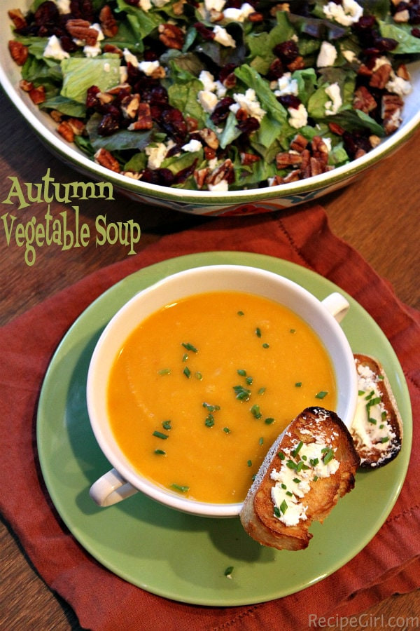 Fall Vegetarian Soup Recipes  Autumn Ve able Soup Recipe Girl