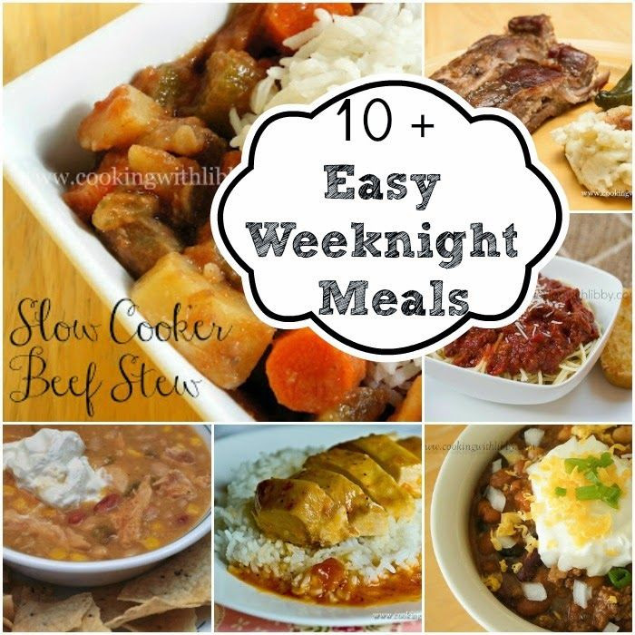 Fall Weeknight Dinners  18 best images about Recipes for Busy nights on Pinterest