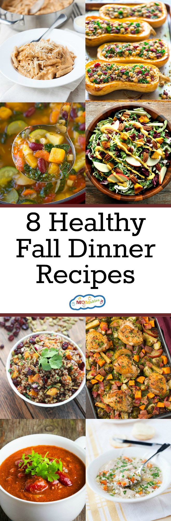 Fall Weeknight Dinners  8 Healthy Fall Dinner Recipes MOMables Good Food