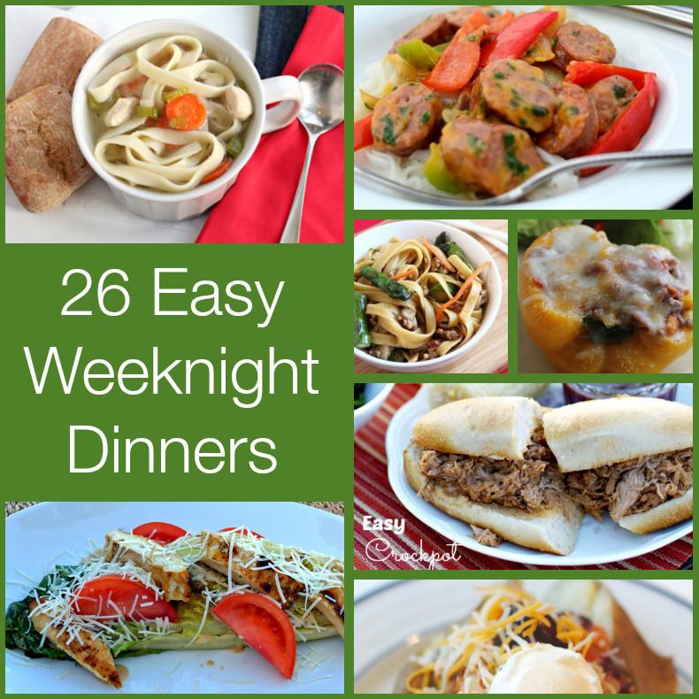 Fall Weeknight Dinners  EASY Weeknight Dinners
