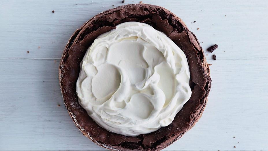 Fallen Chocolate Cake  Fallen Chocolate Cake
