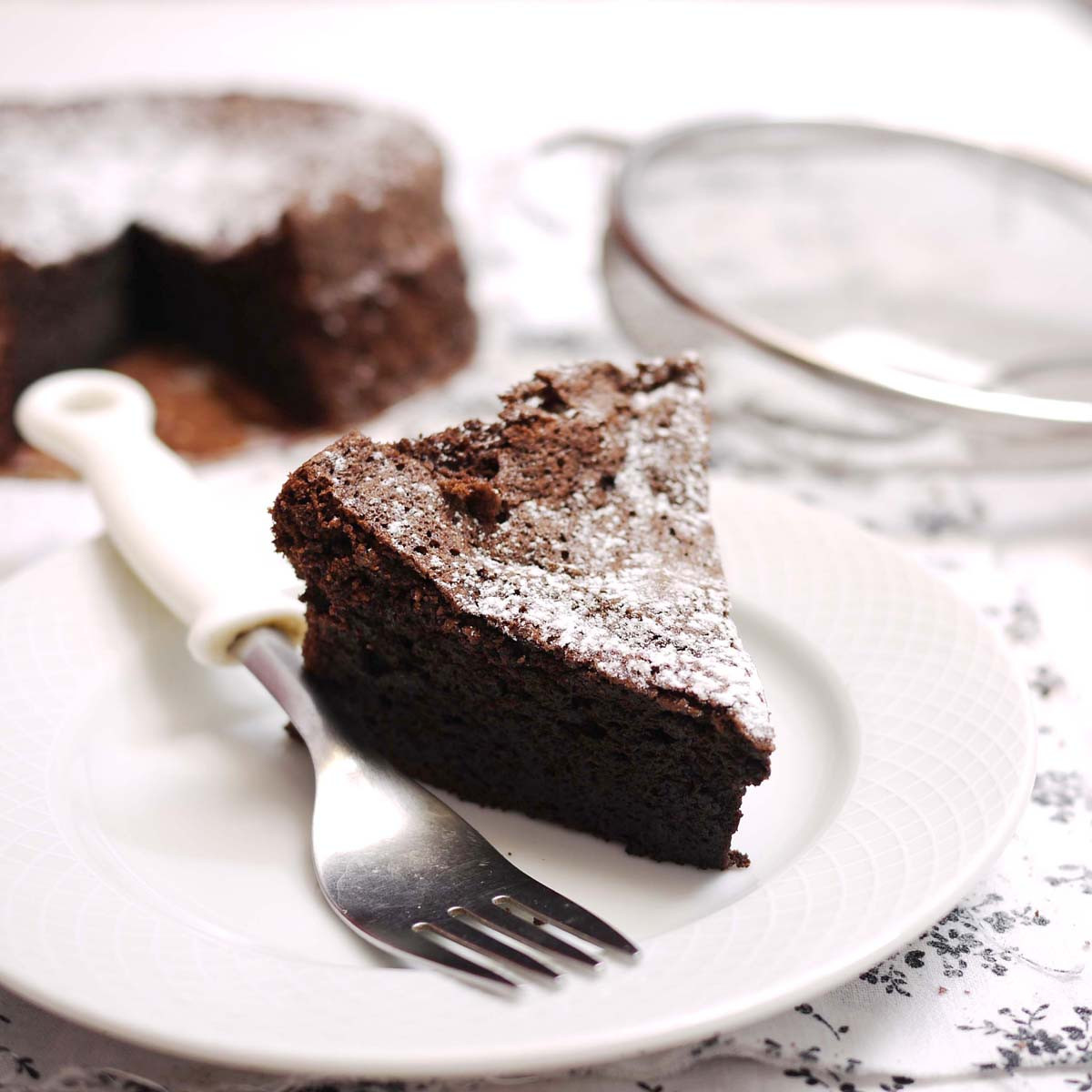 Fallen Chocolate Cake  Fallen Chocolate Cake Recipe — Dishmaps