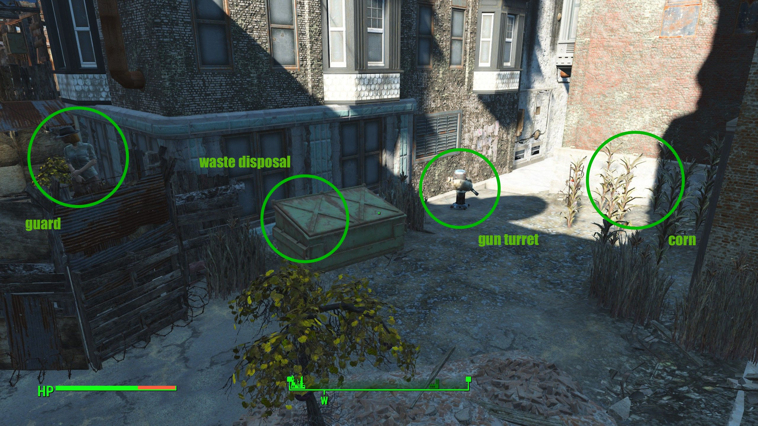 Fallout 4 Corn  The great Fallout 4 sustainable housing experiment