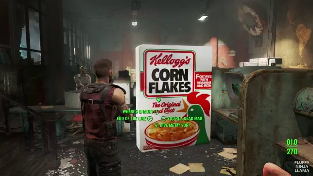 Fallout 4 Corn  Fallout 4 Kellogg s fit OUTFIT