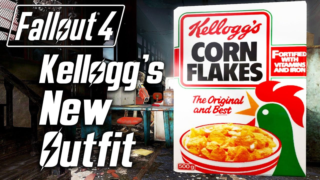 Fallout 4 Corn  Fallout 4 Kellogg s New Outfit D