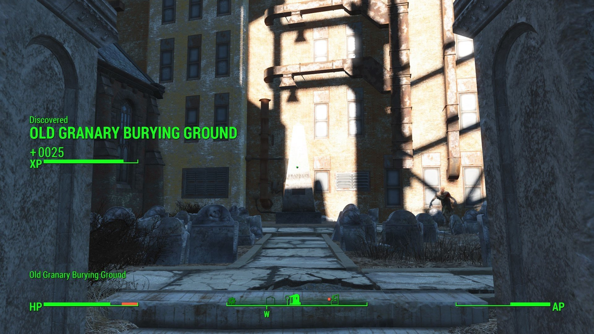 Fallout 4 Mean Pastries  Old Granary Burying Ground