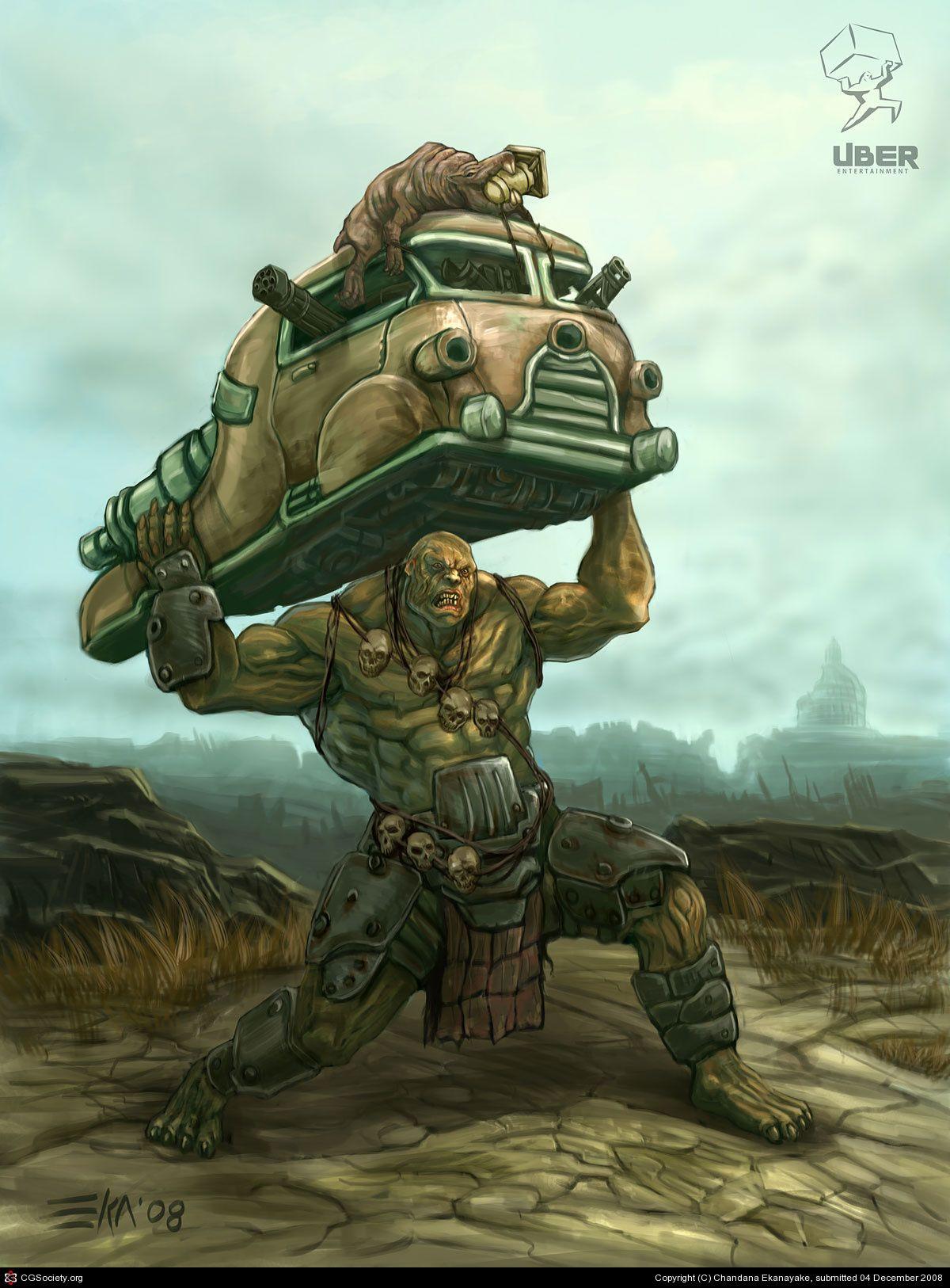 Fallout 76 Canned Meat Stew  Super Mutant by Chandana Ekanayake 2D