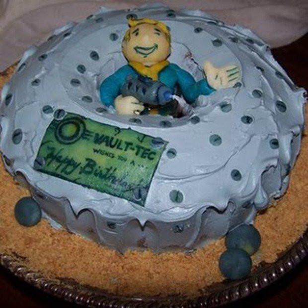 Fallout Birthday Cake  Happy Birthday to Me destructoid