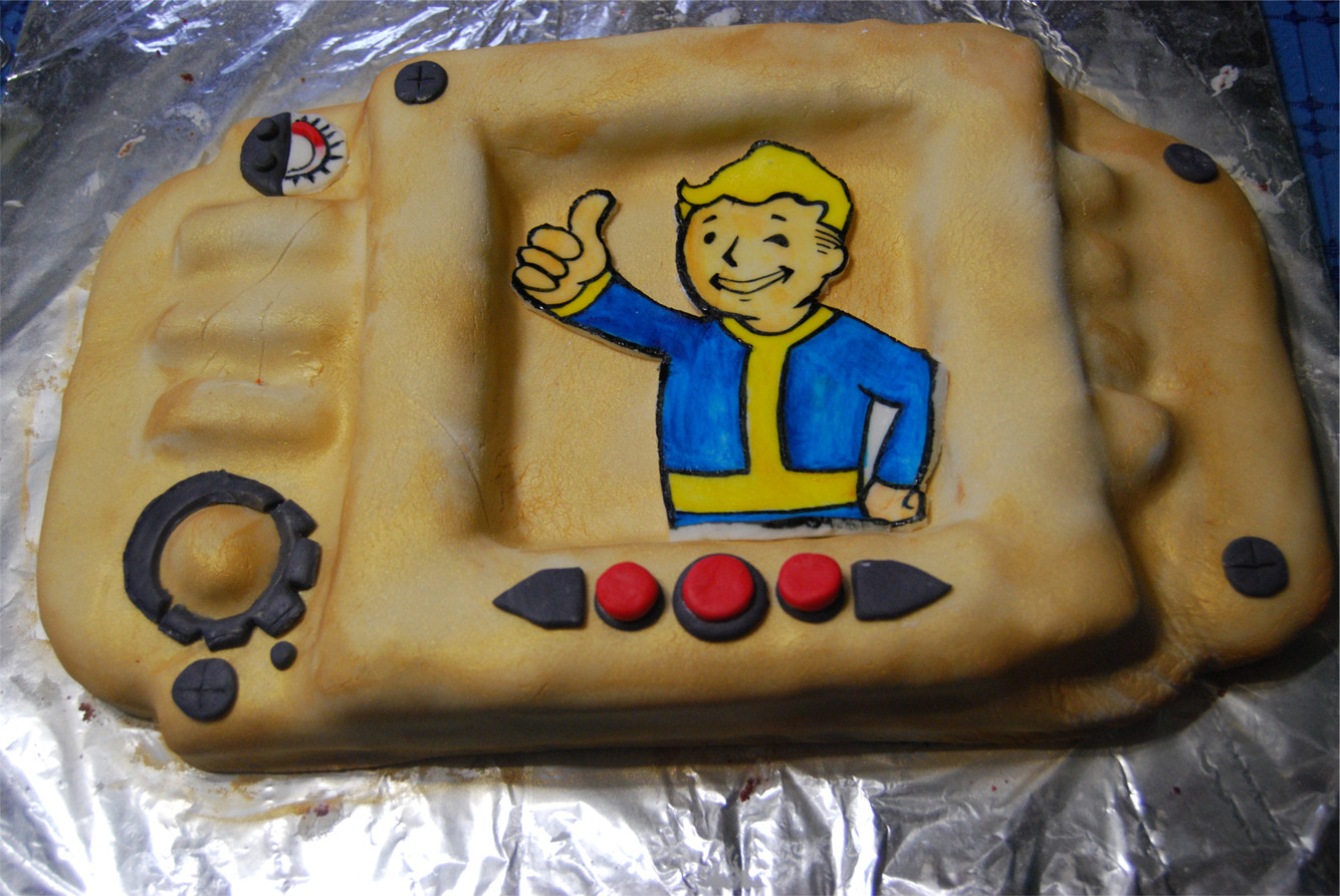Fallout Birthday Cake  301 Moved Permanently