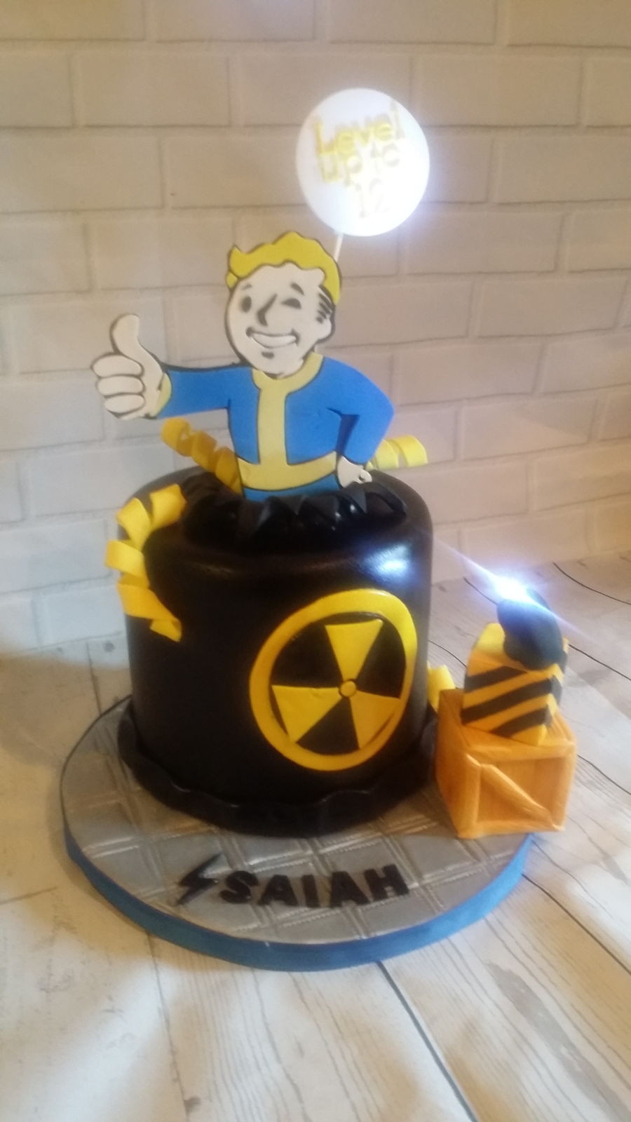 Fallout Birthday Cake  Fallout Shelter Cake CakeCentral