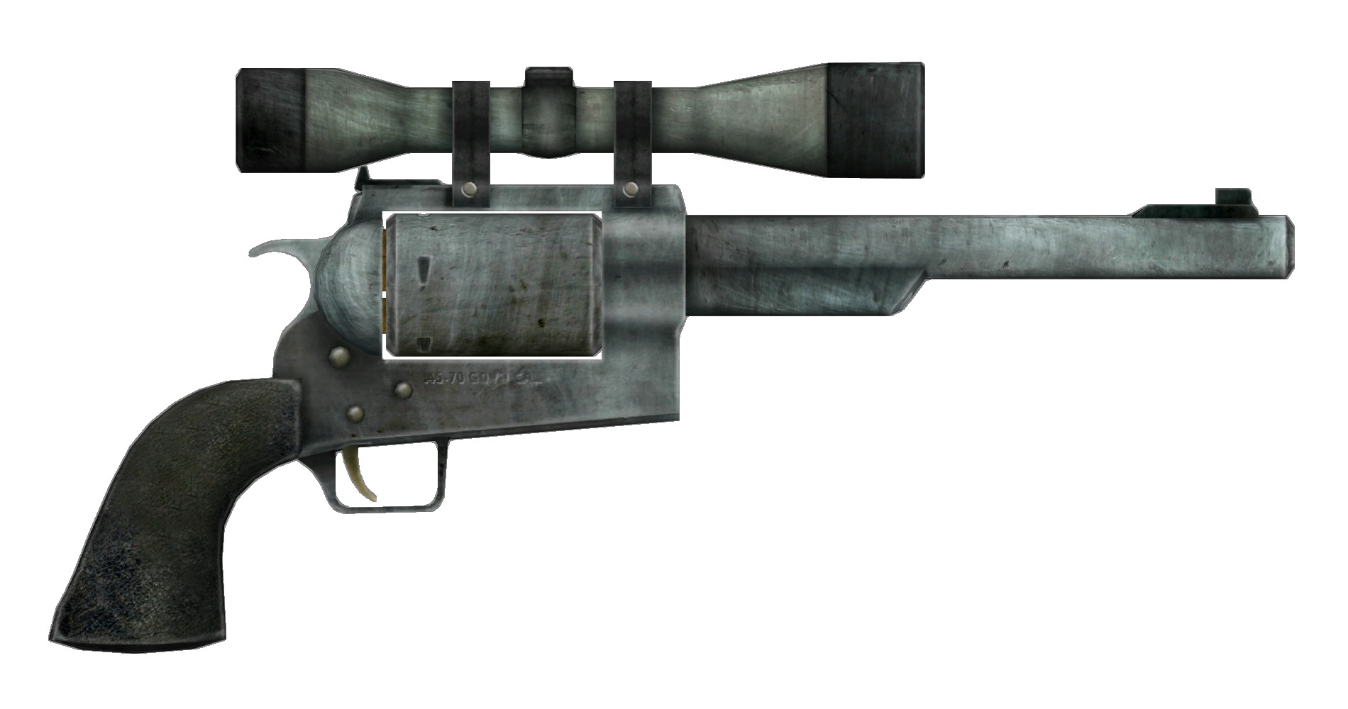 Fallout New Vegas Dinner Bell  Hunting revolver Fallout Wiki