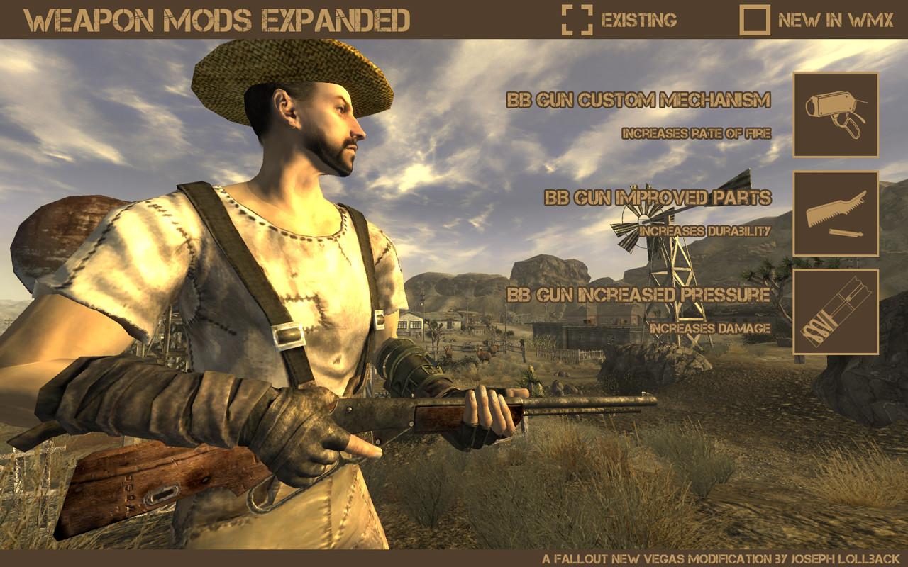Fallout New Vegas Dinner Bell  Weapon Mods Expanded Fallout New Vegas Weapons