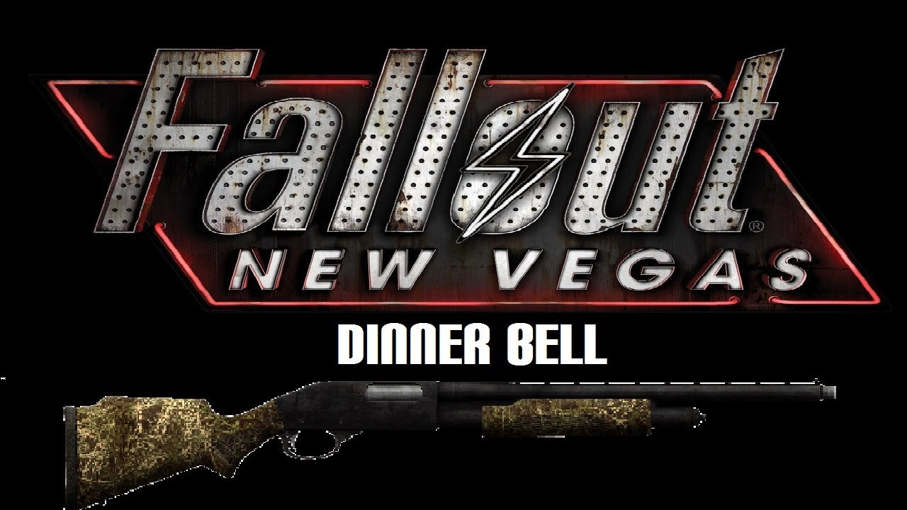 Fallout New Vegas Dinner Bell  Fallout New Vegas Unique Weapons Dinner Bell