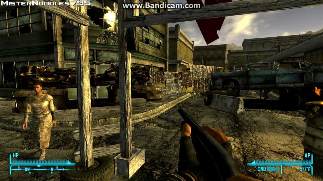 Fallout New Vegas Dinner Bell  How To Get Dinner Bell Unique Hunting Shotgun In Fallout